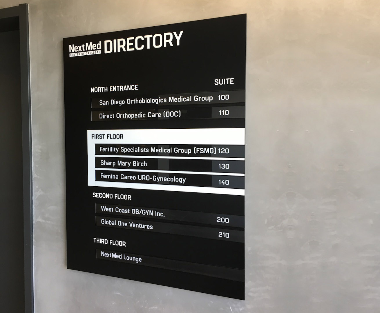 NextMed Center branded Directory