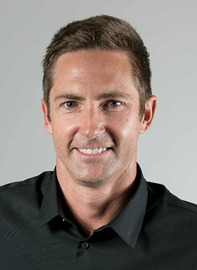 Headshot of off-road racer, Justin BLower